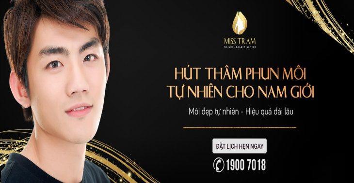 Phun Môi – Xăm Môi Pha Lê Tự Nhiên Cho Nam