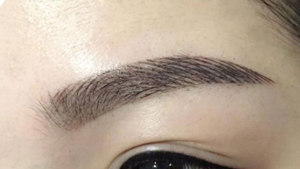 Spray Eyebrow Sculpture Embroidery Beauty Salon Embroidery, Eyebrow sculpting HCMC