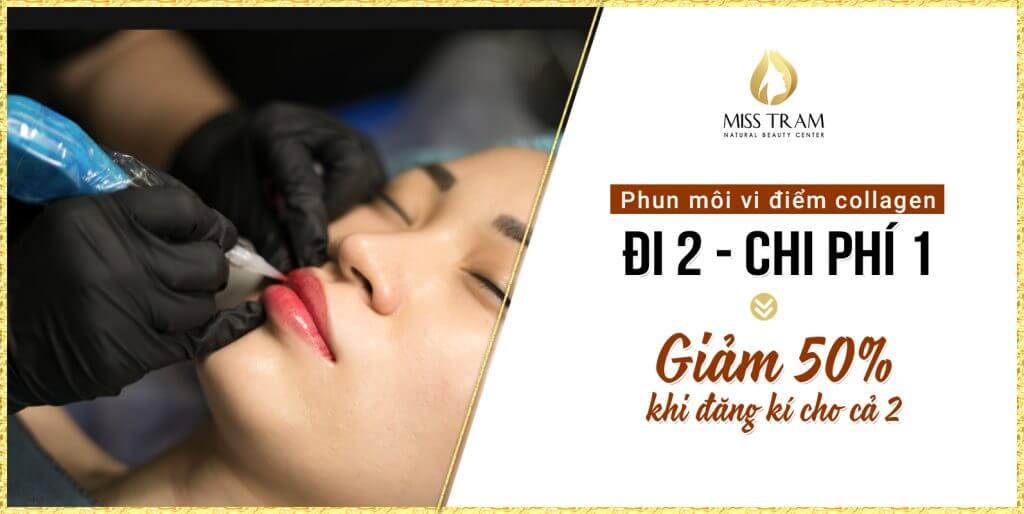 Hút Thâm Phun Môi Collagen Vi Chạm Cho Nữ 17