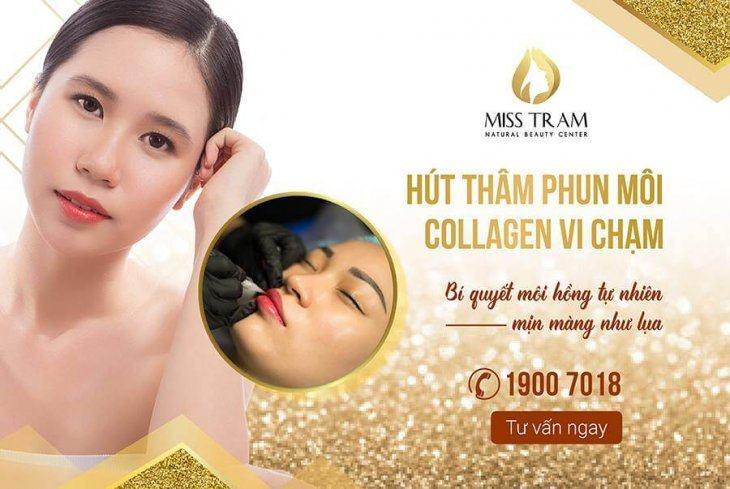 Phun Môi Collagen – Kỹ Thuật Phun Xăm Môi Hiện Đại