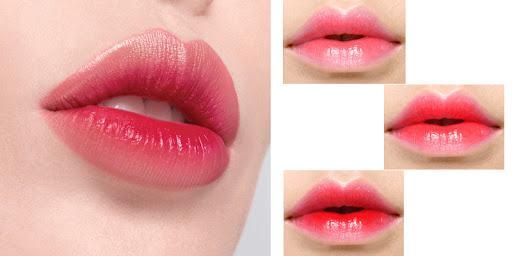 Phương pháp phun môi xí muội cho đôi môi đẹp, quyến rủ