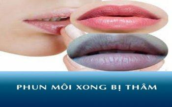 Why Sprayed Lips About Blackening
