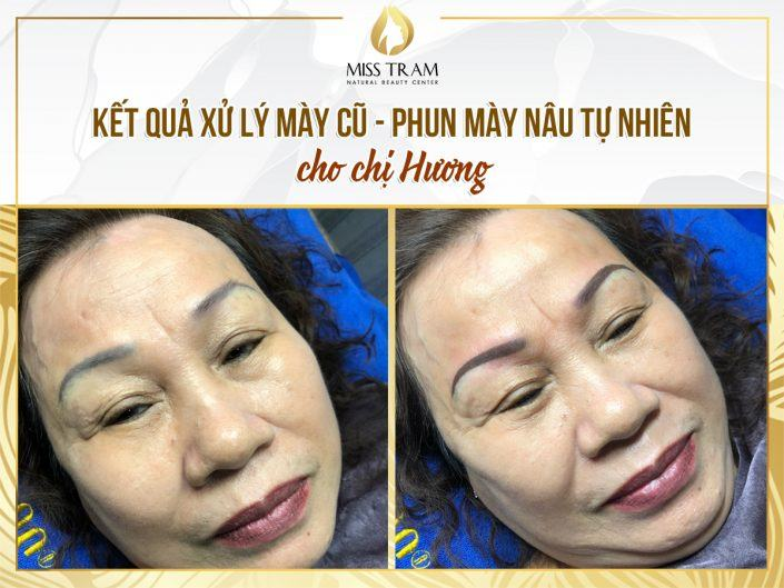Old Eyebrow Treatment - Natural Brown Eyebrow Spray For Huong