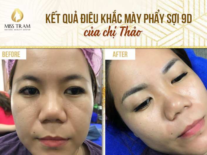 The result of 9D fiber sculpting by Ms. Thao