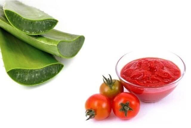 làm trắng da mặt bằng rau củ quả