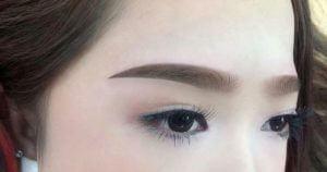 powder eyebrow spray
