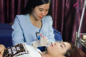 Quy Trình Phun Môi Hồng Baby Tại Miss Tram - Natural Beauty Center 4
