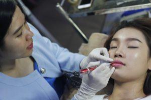 Quy Trình Phun Môi Hồng Baby Tại Miss Tram - Natural Beauty Center 5