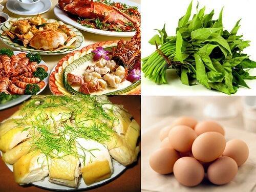top những thực phẩm nên tránh sử dụng sau khi phun môi