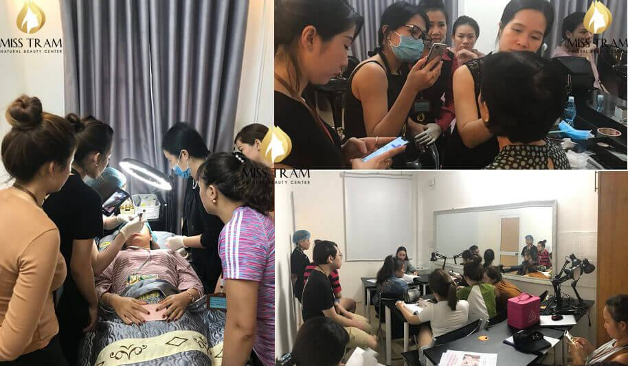 Middle school class safety spraying course - Tattoo Courses - Embroidery - Cosmetic Sculpture [Foot Eyebrow - Eye - Lip]