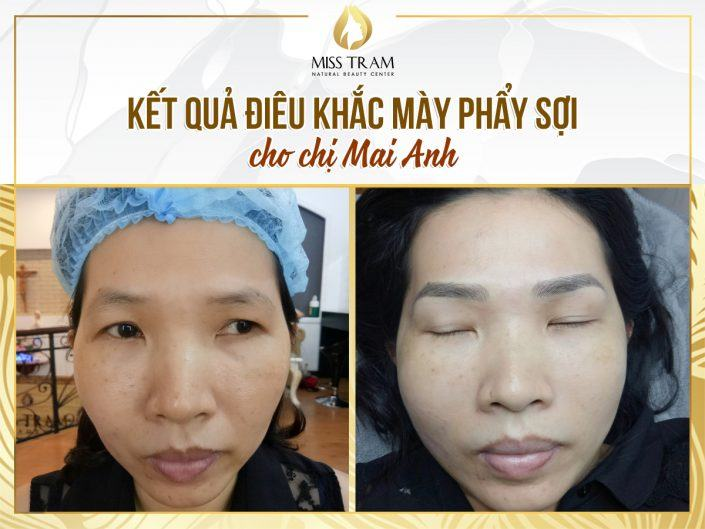 The Results of Scraping Beautiful Fiber For Mai Anh