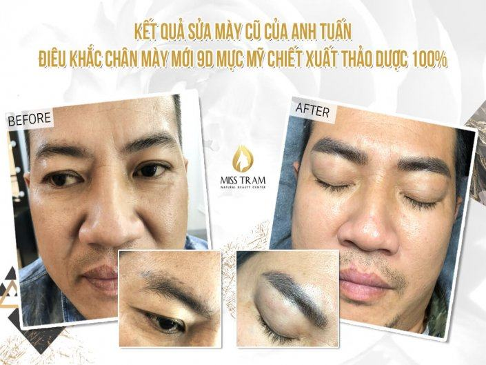 Sculpting New Eyebrow 9D With Fine Ink Extract Herbal Ingredients 100%