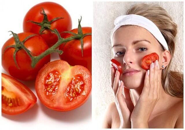 cách làm mặt nạ cà chua se khít lỗ chân lông