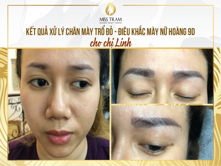 The Results of Sister Linh After Handling And Sculpting The Queen