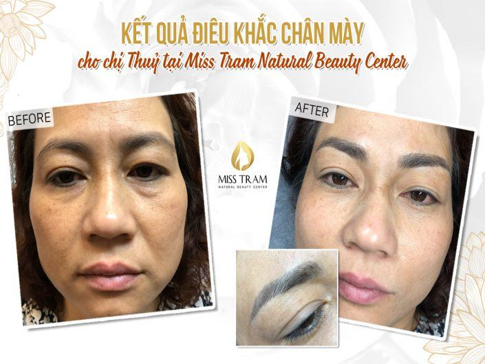 Result Of Beautiful Eyebrow Sculpture For Ms. Thuy