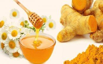Instructions on how to whiten skin quickly with Turmeric Powder