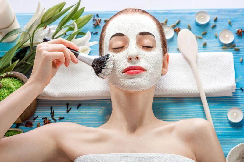 chăm sóc da sau khi đắp mặt nạ