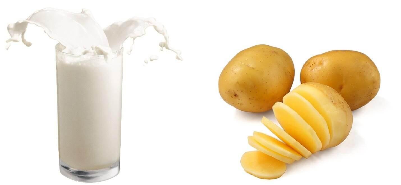 Bí Quyết Đắp Mặt Nạ Khoai Tây Sữa Tươi Hiệu Quả Nhất 3