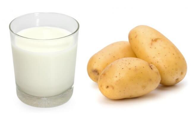 Công thức mặt nạ sữa tươi