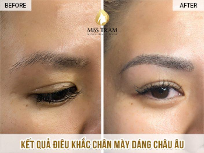 Sculpting European Eyebrows For Ms Nga