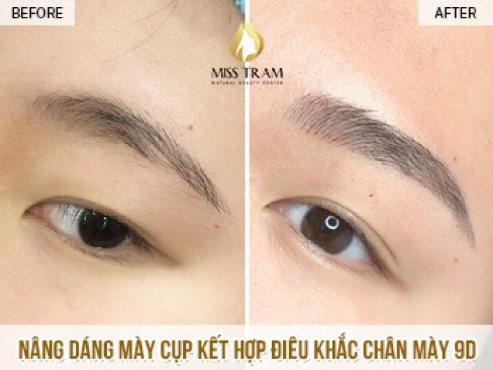 Lifting And Sculpting Eyebrow 9D Ink Queen