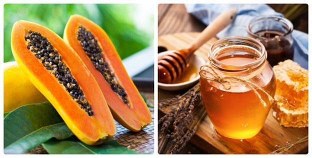 Mặt nạ đu đủ và mật ong phù hợp cho làn da khô