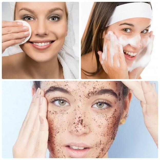 chăm sóc da mặt đúng cách