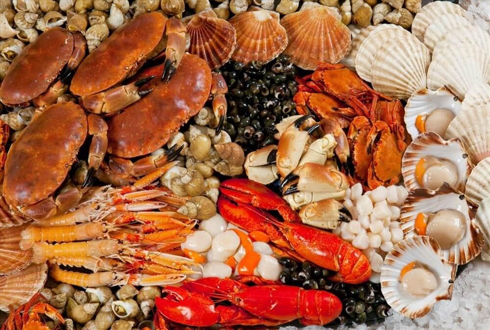 Nên hạn chế ăn các loại hải sản