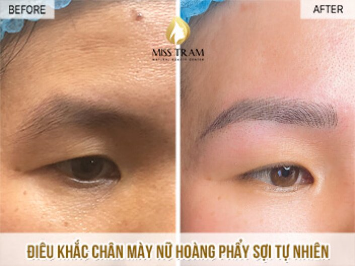 Sculpting Eyebrows Queen Scraps Natural Fiber For Ms. Nghia
