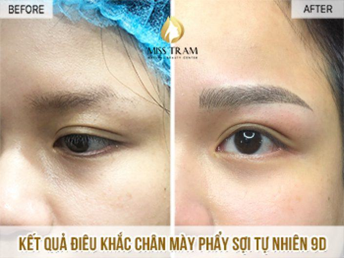 Sculpting Eyebrows with 9D Natural Fiber For Babies