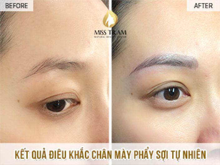 Sculpting Natural Eyebrows For Ms. Son Ha
