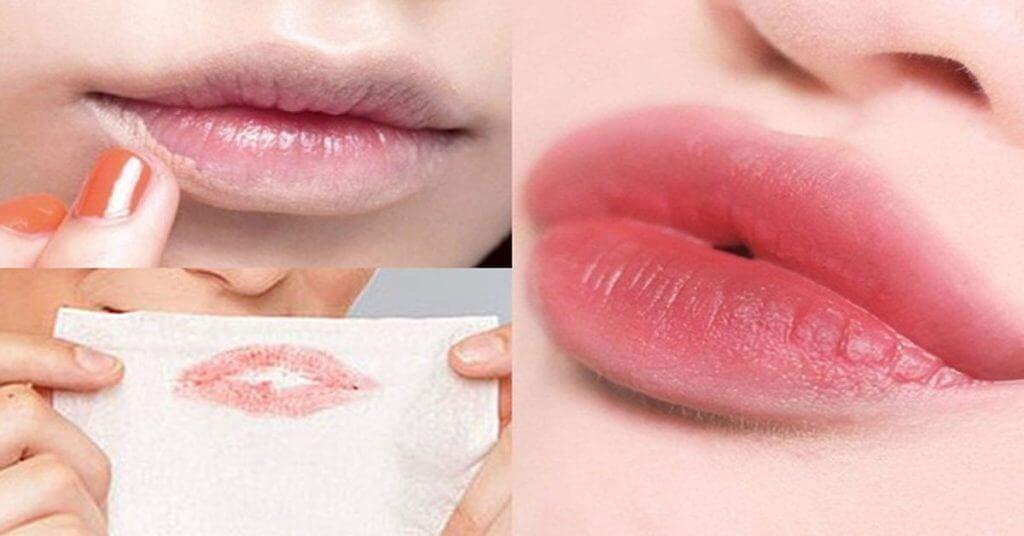 Sau khi phun môi, nếu bạn thấy những biểu hiện sau thì nên liên hệ chuyên viên thẩm mỹ