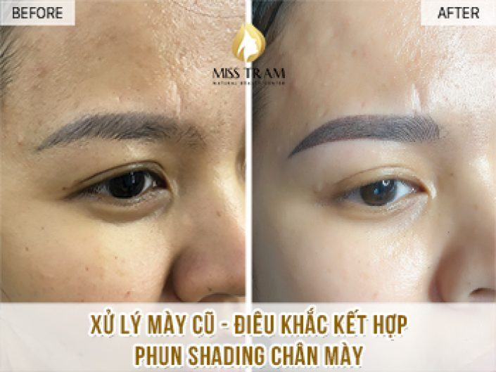 Handling Old Eyebrows - Sculpting And Spraying Shading