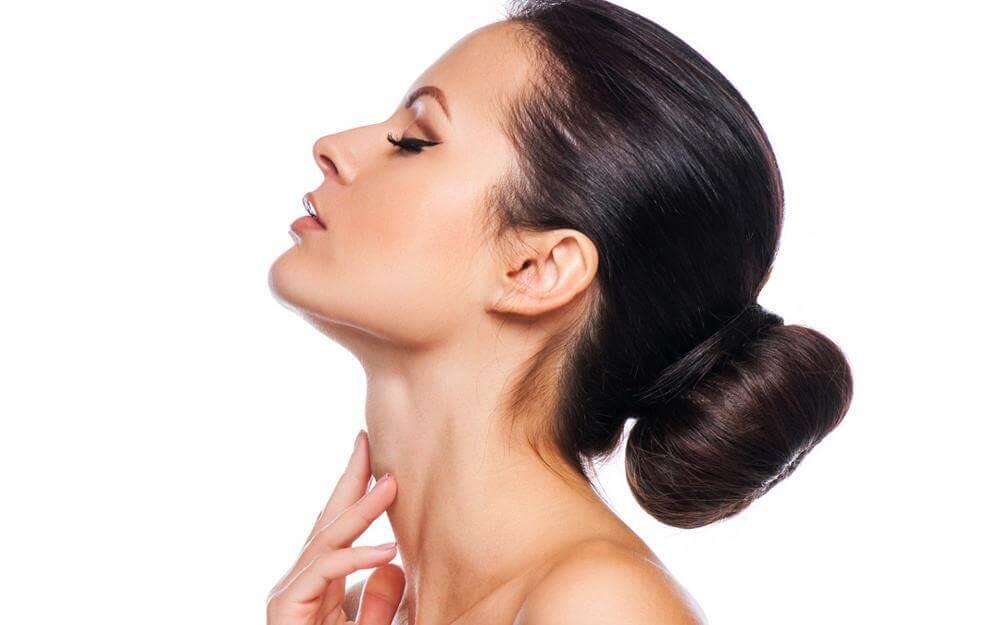 bí quyết chăm sóc vùng da quanh cổ