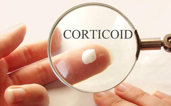 corticoid nguyên nhân da mặt bị tổn thương