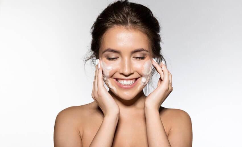 làm sạch da cách phục hồi da mặt tổn thương