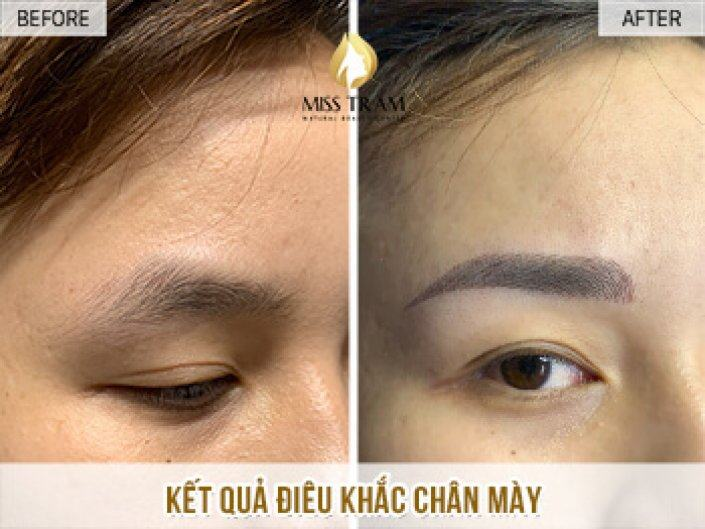Ms. Truc Giang Beauty Eyebrow With Sculpture Technology