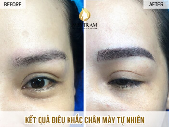 Natural Eyebrow Sculpture Results For Fun Girl