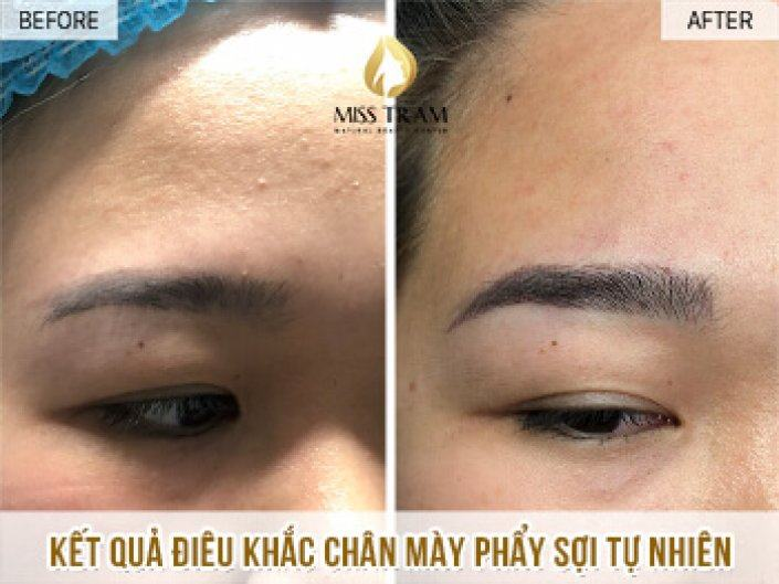 Processing And Sculpting Eyebrows With Fiber For You Duyen