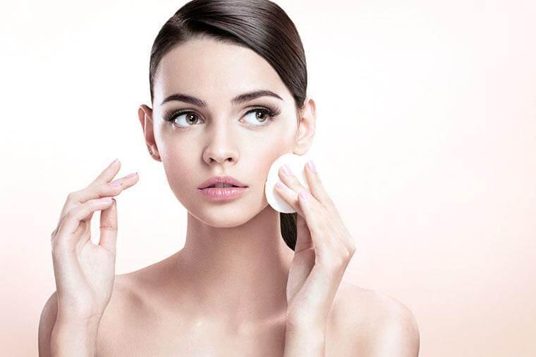 làm sạch da quy trình các bước dưỡng da cho da mụn