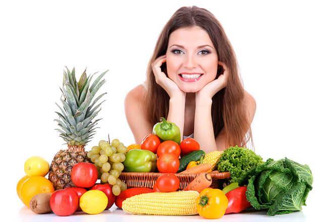 ăn uống khoa học cách khắc phục da mặt thiếu đàn hồi