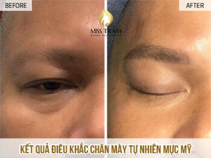 Performing Eyebrow Sculpture For Mr. Binh