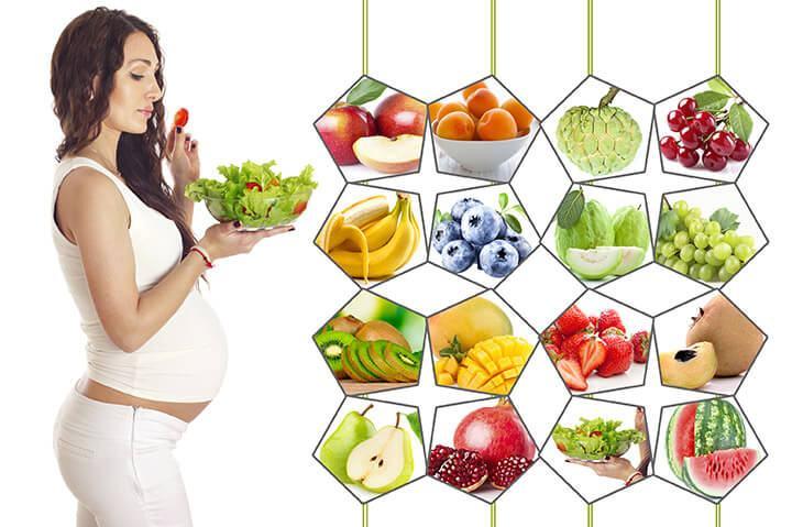 thực phẩm bổ sung chất dinh dưỡng cho bà bầu ngăn ngừa nám da