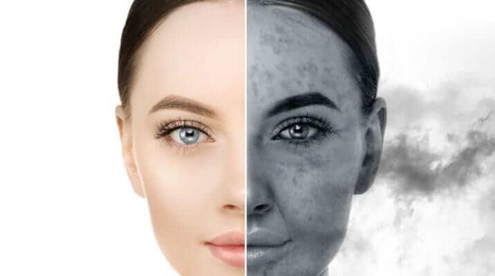 chăm sóc da trước tác hại của ô nhiễm môi trường