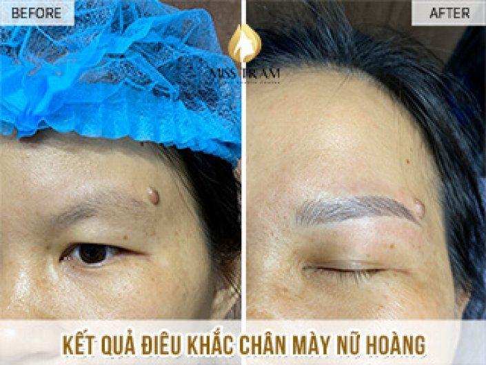 Sculptured Ink Queen Eyebrows For Ms Nhung