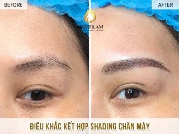 Sculpting Eyebrows With Shading For Nguyet