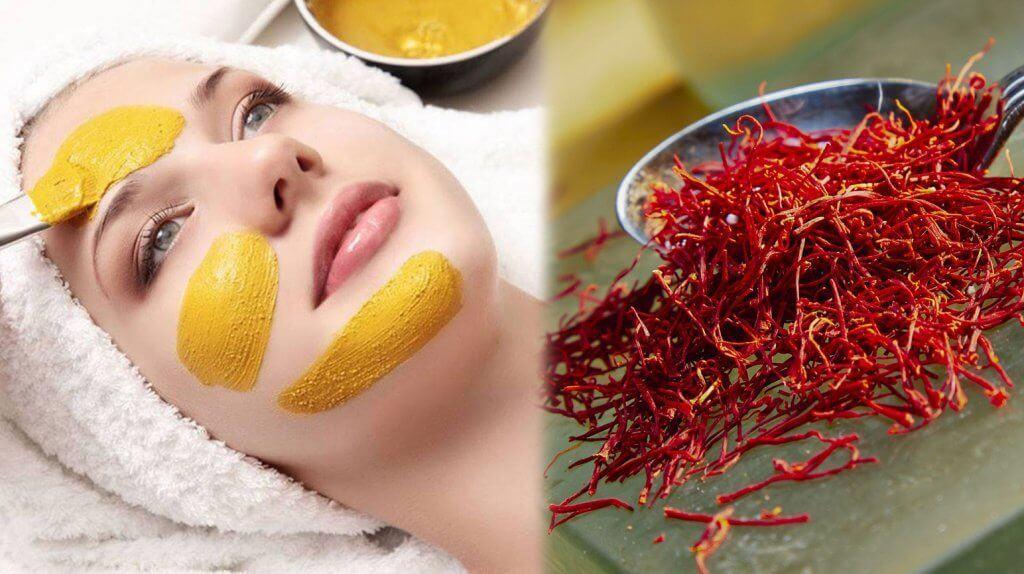 mặt nạ nhụy hoa nghệ tây dưỡng da