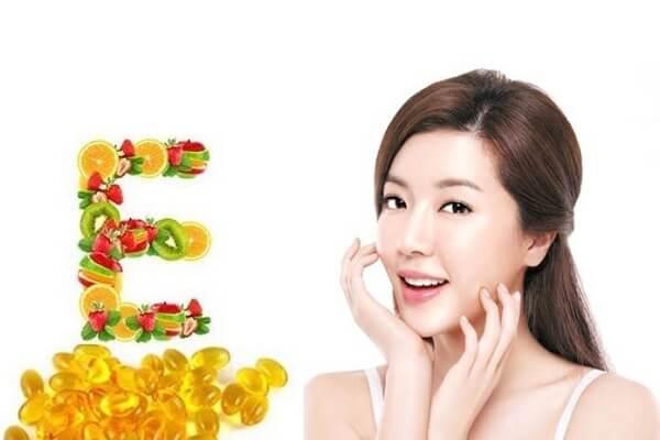 cách dưỡng da hiệu quả với vitamin e