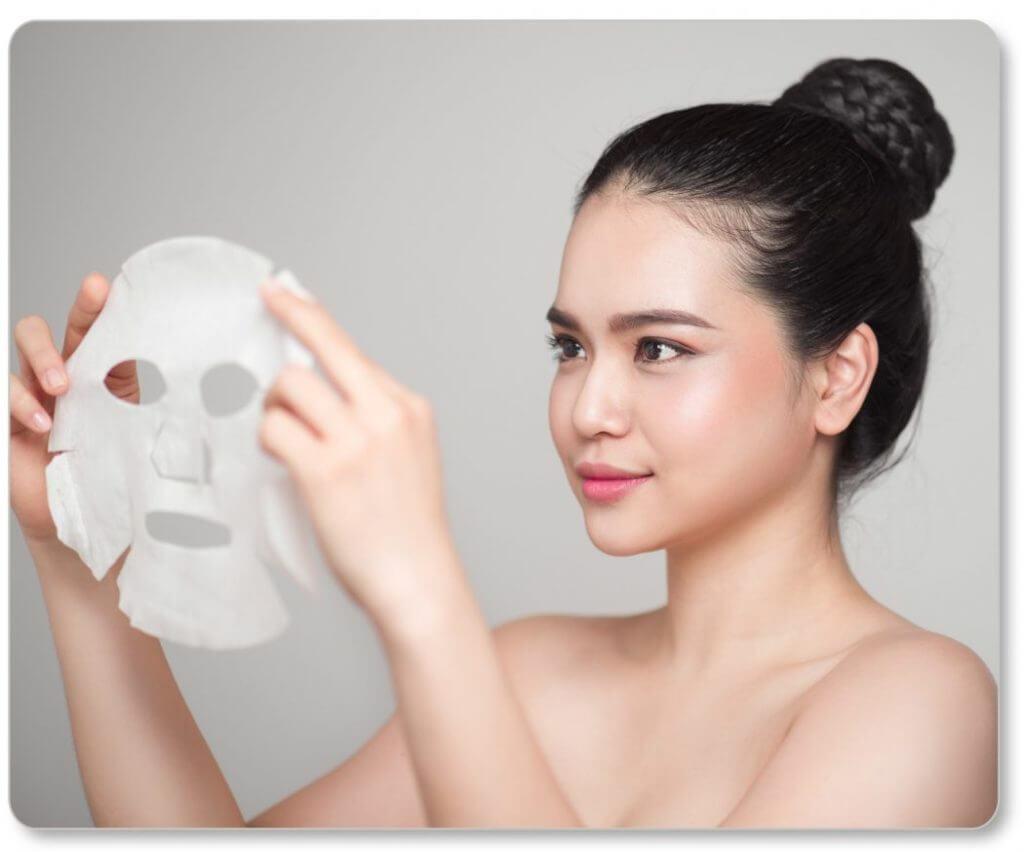 sai lầm khi đắp mặt nạ giấy nên tránh