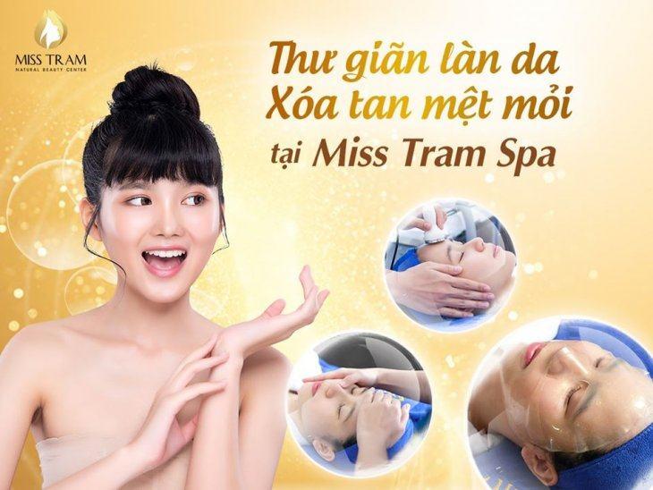 Thư Giãn Làn Da – Xóa Tan Mệt Mỏi Tại Miss Tram Spa